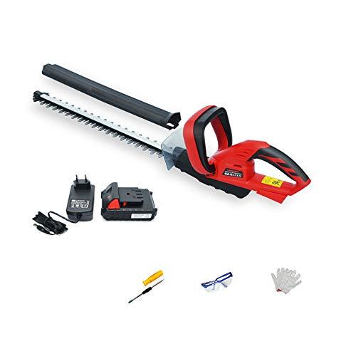 Best Bargain DENGS Portable Grass Trimmer Brush Cutter Hedge Cutter, 20V Lithium Battery, Speed 1500...