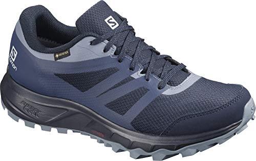 Salomon Damen Trail Running Schuhe, TRAILSTER 2 GTX W, Farbe: blau (navy blazer/sargasso sea/flint stone) Größe: EU 42