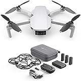 DJI Mavic Mini Combo Drone Leggero e Portatile, Batteria 30 Minuti, Distanza 2...