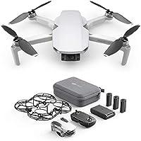 DJI Mavic Mini Combo Drone Leggero e Portatile, Batteria 30 Minuti, Distanza 2 Km, Gimbal 3 Assi, 12 MP, Video HD 2.7K
