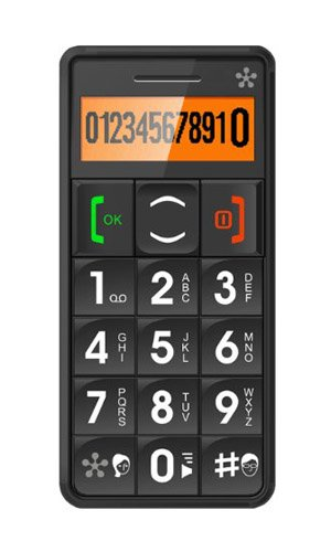 JUST5 J509 Easy to Use Unlocked Cell Phone with Big Buttons, Amplified Sound, Personal...