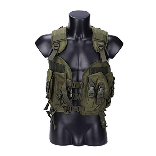SUNRIS Seal Tactical Vest Camouflage Military Army Combat Vest for Men Hunting War Game Airsoft Outdoor Sport Vest with Water Bag
