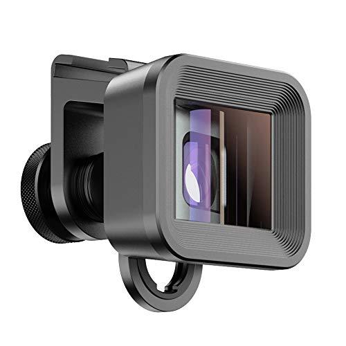 Apexel HD 1.33X Anamorfe Lens Deformatie Breedbeeld Mobiele Filmmaken Lens voor iPhone, Pixel, Samsung Galaxy Phone Lens