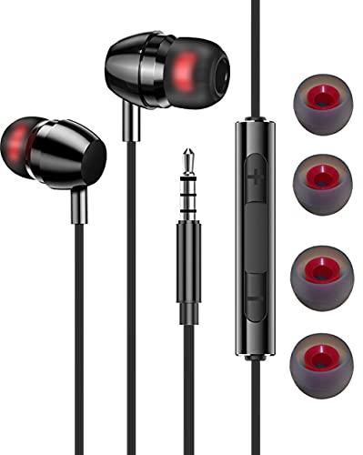 Cuffie con filo Auricolari In-Ear 3.5mm Microfono e Controllo del volume, con filo Cuffiette Cuffie in-Ear per oppo OnePlus