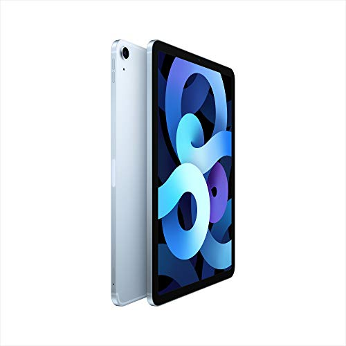 2020 Apple iPadAir (10,9, Wi-Fi + Cellular, 256GB) - Himmelblau (4. Generation)