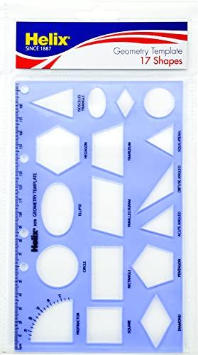 Maped Helix USA Helix Geometry Shape Template...