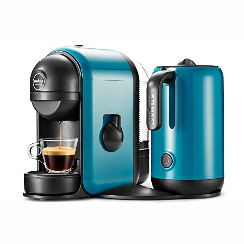 Lavazza 10080941 Macchina Caffè Minù, 1750 Watt, Ciano