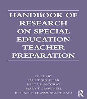 Handbook of Research on Special Education Teacher Preparation