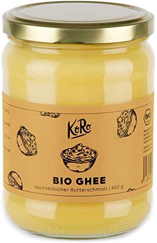KoRo - Bio Ghee 420 g - Butterschmalz - Ayurveda - geklärte Butter - Butterreinfett