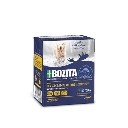 Bozita Naturals HiG Hühnchen+Reis 370g Tetra Pack Hunde Nassfutter