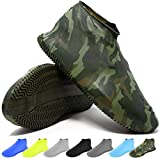 BAYI - Shoe Cover Waterproof Anti Slip Sneaker Silicone Rain Shoes Boot Multi Use - Large - Cammo