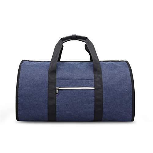 Lxmhz Suit Reistas Cabrio Garment Tas met Schouderband, Draag op Garment Duffel Tas voor Mannen Vrouwen - 2 in 1 Hangende koffer Suit Reistassen