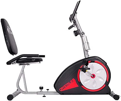 FDGSD Bicicleta estática reclinada, Bicicleta estática de Resistencia magnética eléctrica para Personas Mayores, Fisioterapia de extremidades Inferiores, rehabilitación, Ciclo de Fitness, biciclet