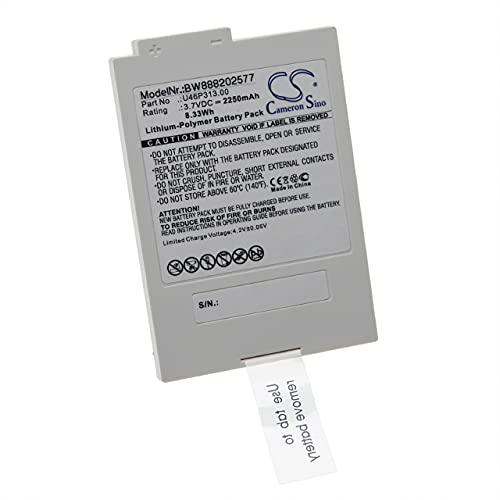 vhbw Batería Recargable Compatible con Xfinity TCA300COM, iControl Technicolor Sistema Alarma (2250 mAh, 3,7 V, polímero de Litio)