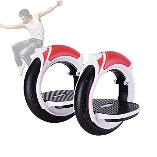 Dos Ruedas Scooters,PortáTil Pedal Scooters,No EléCtrico Ruedas Calientes para Adultos Exterior Deportes A La Deriva,Rojo