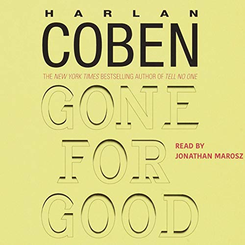 Gone for Good audiobook cover art