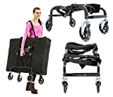 Massage Imperial® Steel Frame Extra Wide Portable Massage Table Trolley
