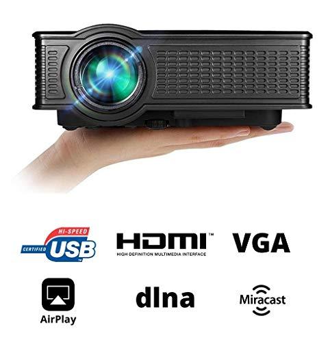 La Vague LV-HD171 - Mini LED proyector, Color Negro: Amazon.es ...