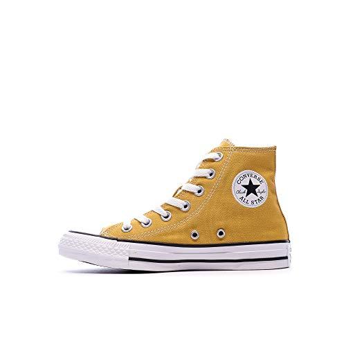 Converse Chuck Taylor All Star Gold Hi Sneakers, Gold Dart, UK 8 / EU 41.5