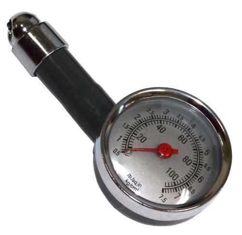AERZETIX: Manómetro - Comprobador de Presión de Neumáticos C1636