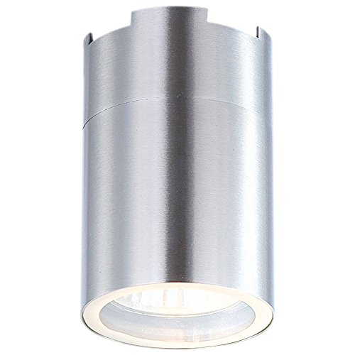 LED opbouw spots plafond lamp eetkamer keuken roestvrij staal lamp rond 1-flg Globo 3202L