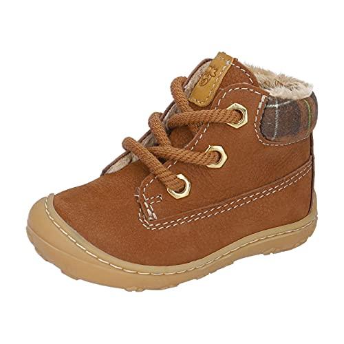 RICOSTA Unisex - Kinder Boots TARY von Pepino, Weite: Mittel (WMS),terracare,gefüttert,Kids,junior,Kleinkinder,Curry (262),22 EU / 5 Child UK