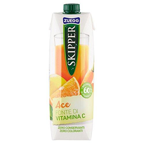 Zuegg Bevanda all'Arancia, Carota e Limone con Vitamine, 1L