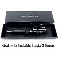 Bolígrafo puntero Antonio Miro 2 en 1 personalizado con Texto