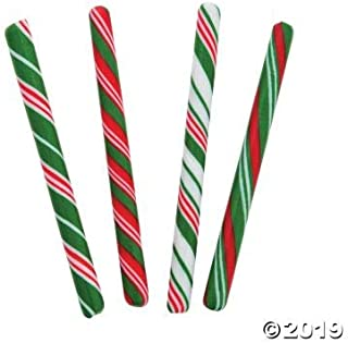 Candy Canes (80 individually wrapped sticks) Fun for parties, weddings and gender reveal (Christmas)