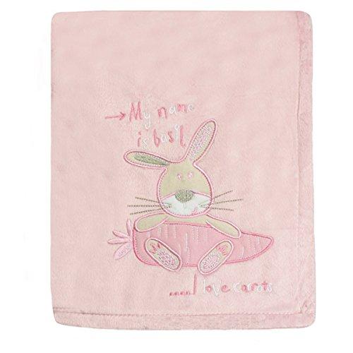 Snuggle Baby Couverture pour bébé en forme de lapin - Rose