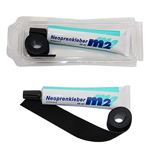 M2 Neopren Nahtband 25mm x 950mm Zum...