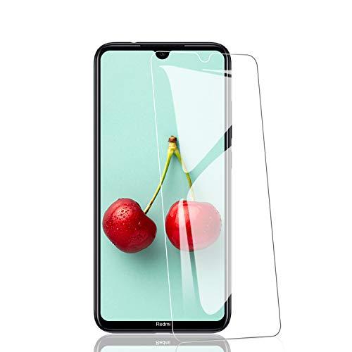 RIIMUHIR Vetro Temperato per Xiaomi Redmi Note 8 [3 Pezzi], HD Alta Trasparenza Protezione Schermo, Nessuna Bolla, Anti-Impronte, Durezza 9H, Anti-graffio Pellicola Protettiva