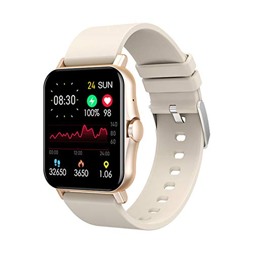 1.69 Pulgadas 2021 New ZW23 Bluetooth Call Smart Watch Impermeable Smartwatch Fitness Tracker Vs T68 Y68 P8 para Android iOS,A