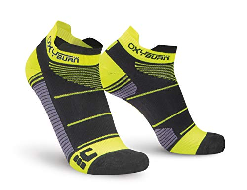 Oxyburn Run Evospeed Light-Low-Cut S Chaussettes Homme, Black/Vision, Size 35/38