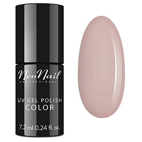 NeoNail UV Nagellack 7,2 ml - Nude Kollektion - UV Lack Gel Polish Soak off Nagellack UV Gel LED Polish Lack Shellac (6055-7 Modern Princess)