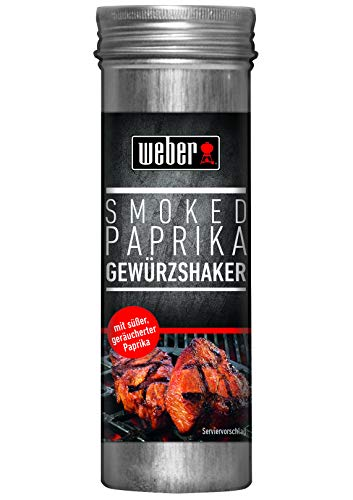 Weber Smoked Paprika Gewürzshaker, 75 g