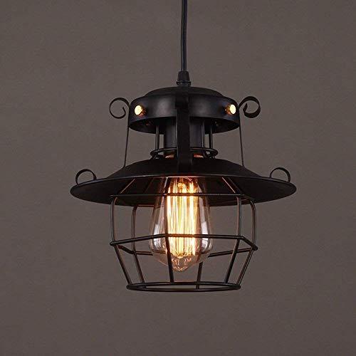 HDDD hanglamp industrieel metaal, rustieke kroonluchter vintage hangende cage creatieve hallampen decoratielampen voor keuken eetkamer landbouw ingang foyer tafel hal