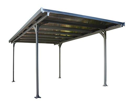 Palram Verona 5000 Carport and Patio Cover, 16' x 10' x 7'