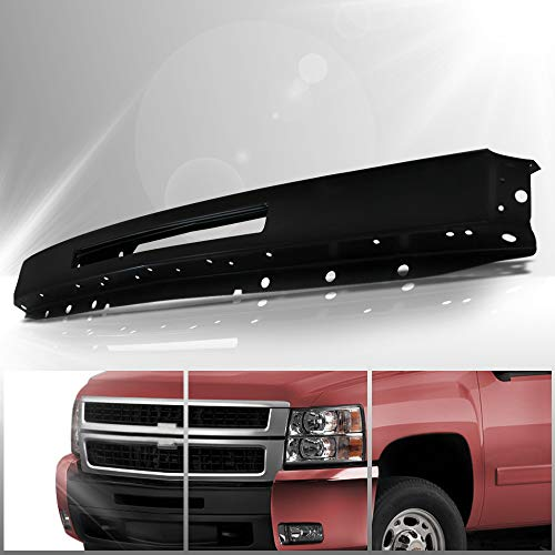 Make Auto Parts Manufacturing Front Painted Black Steel Bumper Face Bar With Air Intake Hole For Chevrolet Silverado 1500 2009-2013 & For Chevrolet Silverado 2500 3500 HD 2007-2010 - GM1002836