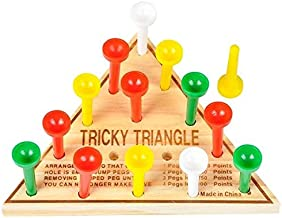 Rhode Island Novelty Board & Travel Games - Wooden Tangle Game