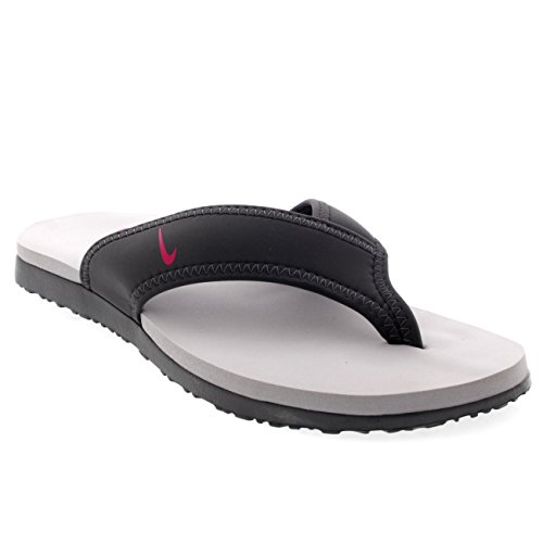 Nike Celso Thong Plus - Dark Grey/Fireberry-Wolf Grey, Größe 11