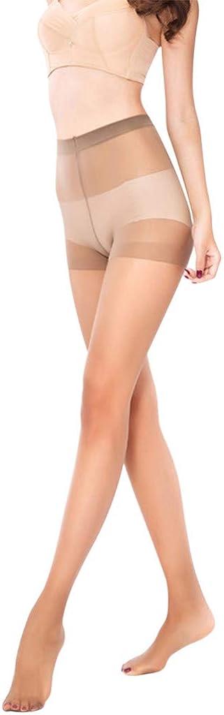 Women's Sexy Shiny Sheer Stockings Flexible Unbreakable Tights Silk Stockings Slim High Waist Pantyhose