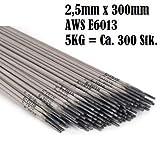 Schweißelektroden SG2 E6013 2,5mm 5kg Stahl Stabelektroden 5 KG Elektroden 2,5
