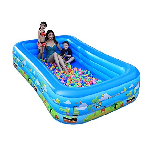 DYYD Fiesta del Agua Océano Ball Pool Espesado bañera Plegable de Verano for Adultos paraíso al Aire Libre Piscina Inflable for niños