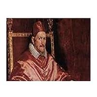 Diego De Silva Velázquez-Portrait of Innocent Xランチョンマット耐える 飾り 食卓 雰囲気 丸洗い 華やか おしゃれ テーブル 断熱 水洗い 大人 子供 対応 30*40cm