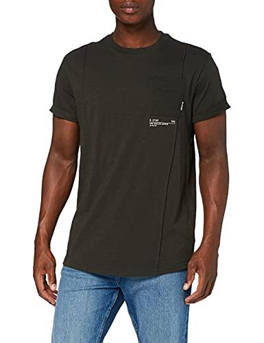 G-STAR RAW D19897 Camiseta, Raven C372-976, L para Hombre