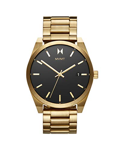 MVMT Herren Analog Quarz Uhr mit Edelstahl Armband 28000037-D