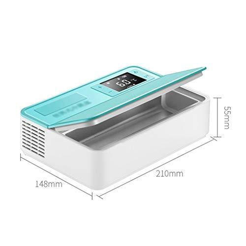 Aluminium koelkast, draagbaar, koeltas, 2-8 graden Celsius, koelkast, drop-incubator, real-time weergave van de temperatuur.