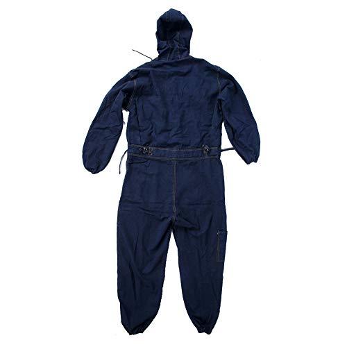 Conjunto de ropa de trabajo, resistente al desgaste de alta calidad a prueba de polvo con bolsillos delanteros en el pecho Conjunto de ropa de reparador, material de(185)