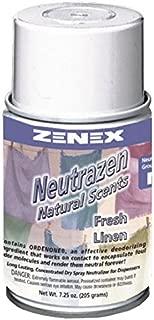 Zenex Neutrazen Fresh Linen Scent Metered Odor Neutralizer - 12 Cans (Case)